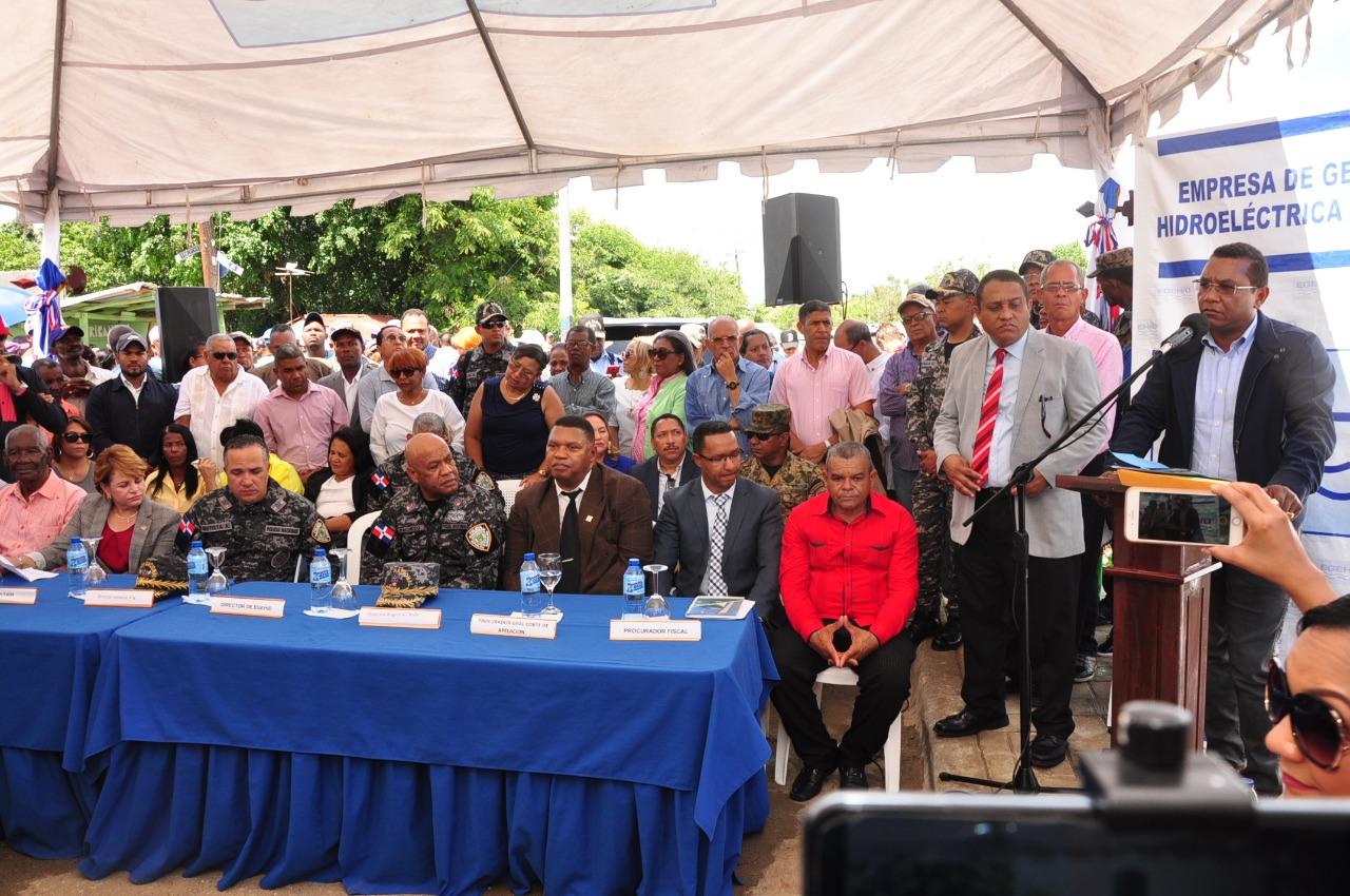 EGEHID entrega 93 casas e inaugura varias obras en San Juan