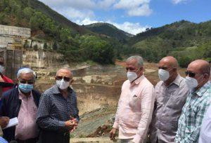 EGEHID anuncia plan de rescate de presa de Pinalito, que está fuera de operación desde 2019