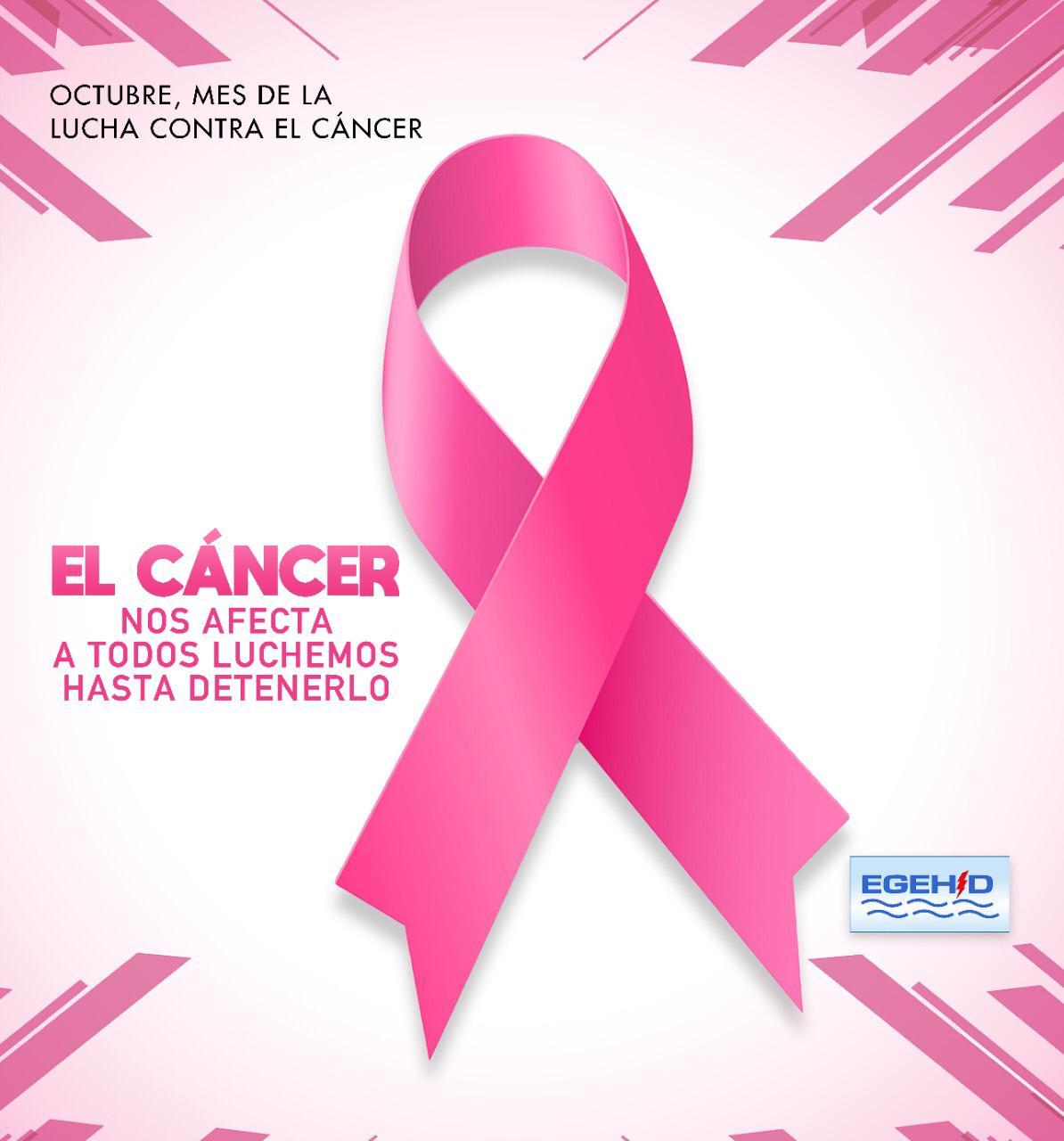 EGEHID se suma a la campaña de sensibilización sobre cáncer de mama
