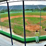 Administrador de EGEHID entrega estadio de béisbol en comunidad Las Terreras, de Azua