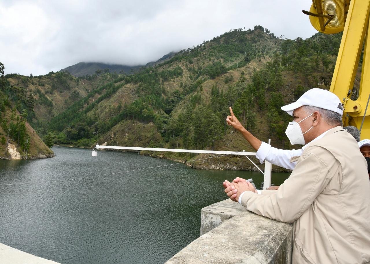 Administrador de EGEHID recorre Complejo Hidroeléctrico de Palomino
