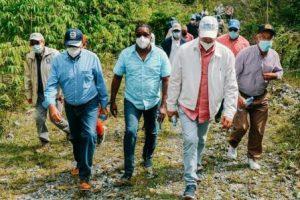 EGEHID y el INDRHI retoman construcción presa de Guaigüí para llevar agua a La Vega