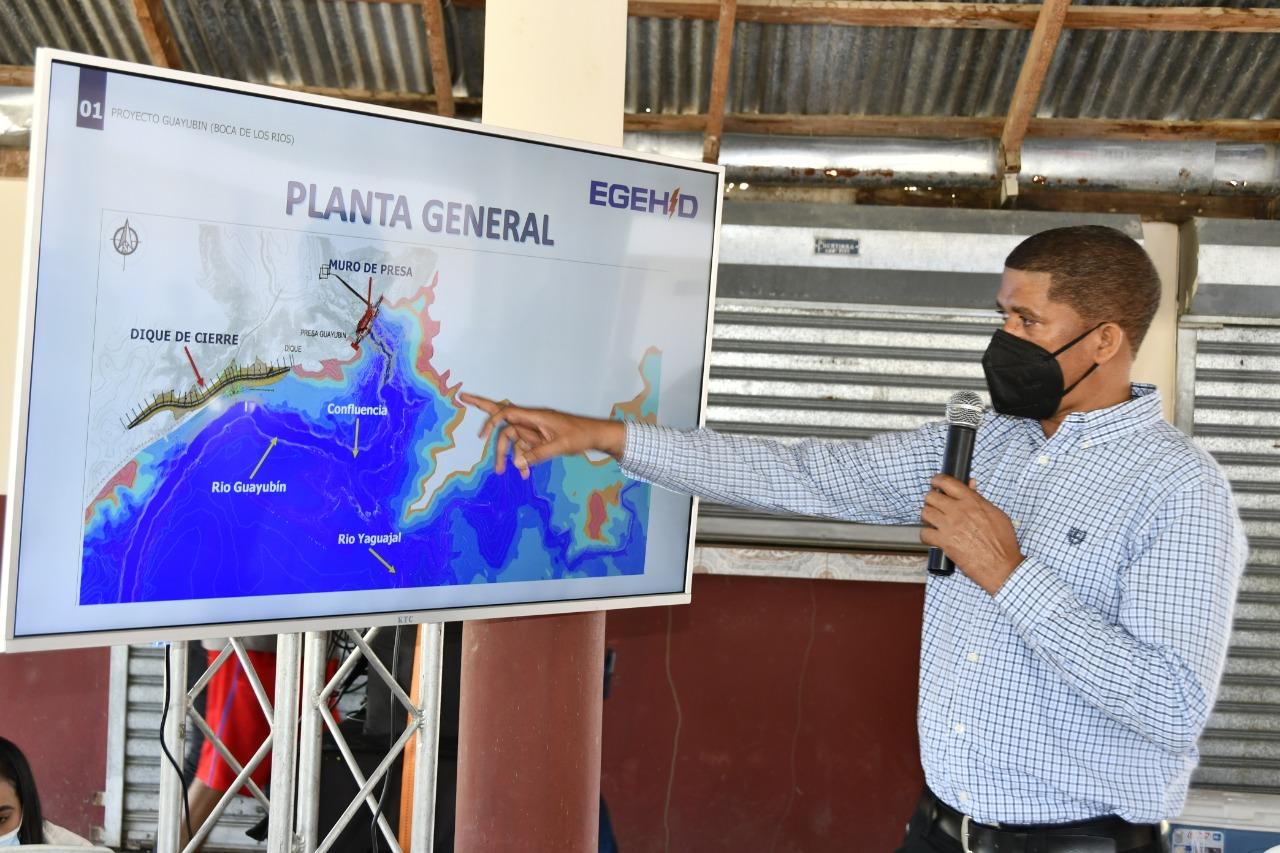 EGEHID realiza vista pública sobre presa de Guayubín en Santiago Rodríguez