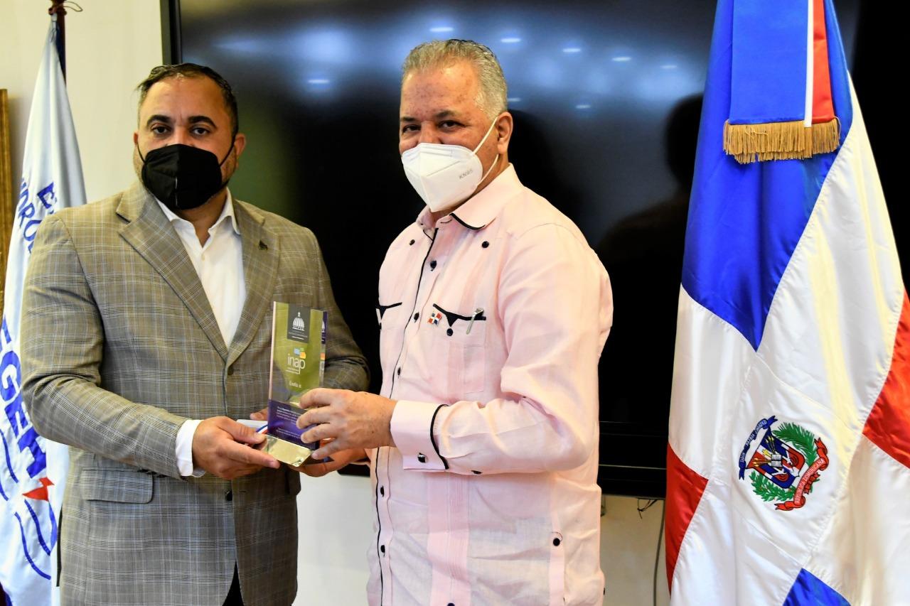 INAP reconoce labor que desempeña el administrador de EGEHID, Rafael Salazar