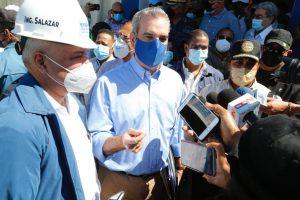 EGEHID realiza estudios de impacto ambiental para reanudar construcción presa de Guayubín