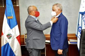 Administrador de EGEHID recibe visita del presidente del CODIA