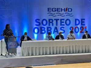 EGEHID lleva a La Vega sorteo de obras por valor de RD$ 163.2 millones
